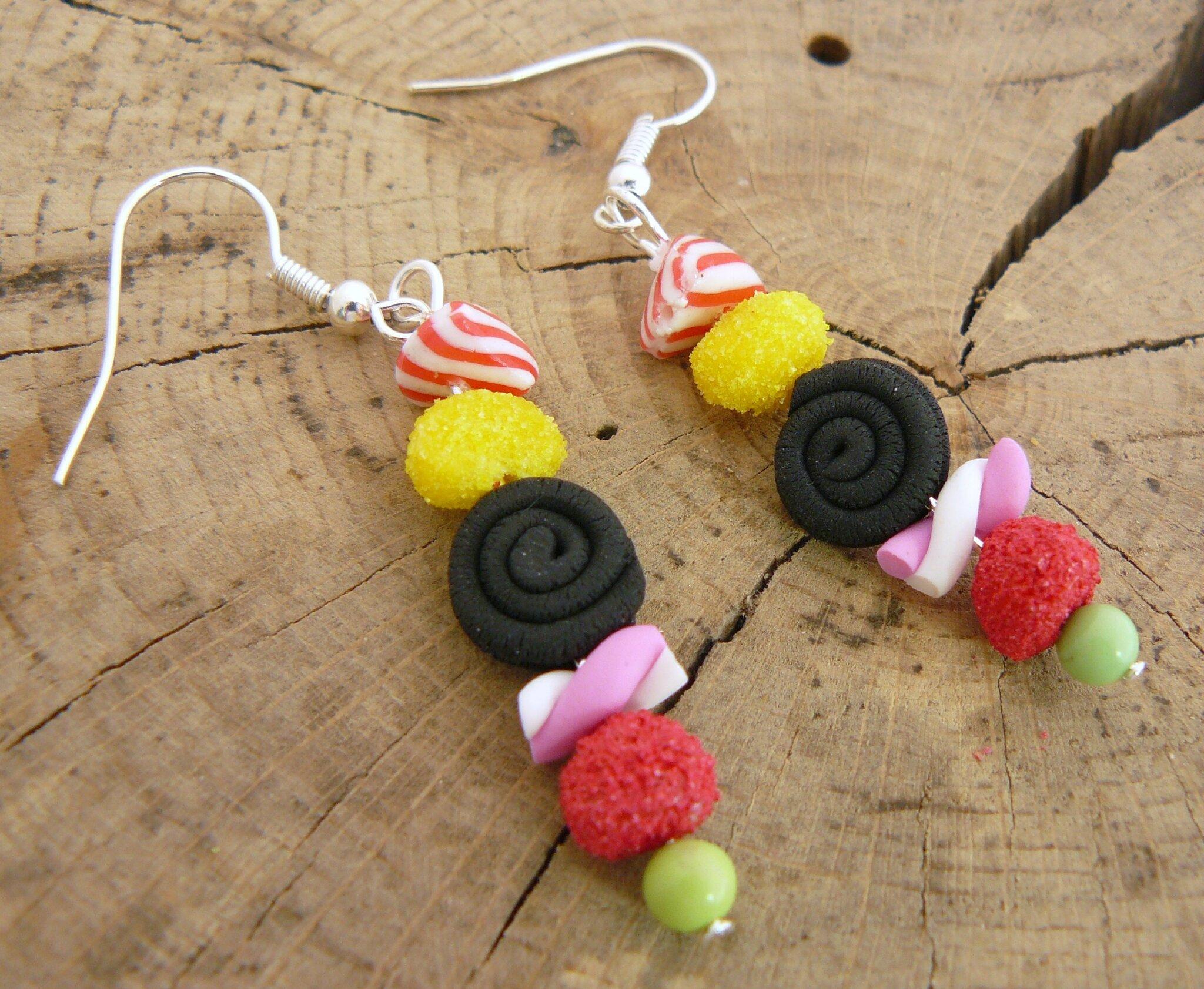 Site boucles d'oreilles bonbons