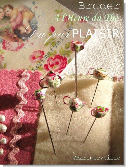 Carnet couture Tea Cottage Marimerveille