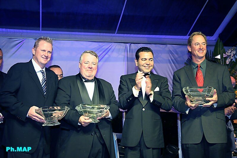34th Hassan II Golf Trophy award ceremony, 26 February 2006