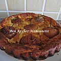 Gâteau crémeux aux petites pommes entières du verger breton