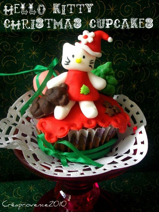 Cupcakes hello kitty de no l christmas hello kitty - Hello kitty noel ...
