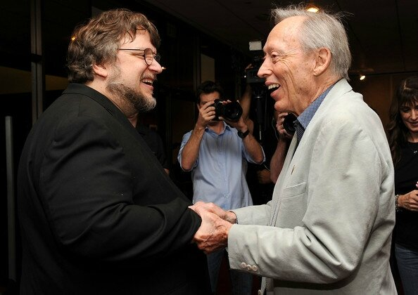 Guillermo del Toro et Dick Smith