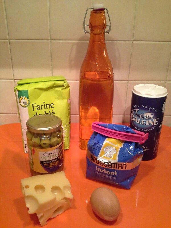 Petits pains aux olives (1)