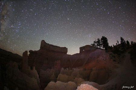 bryce canyon night star 1