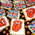 the tongue cookies