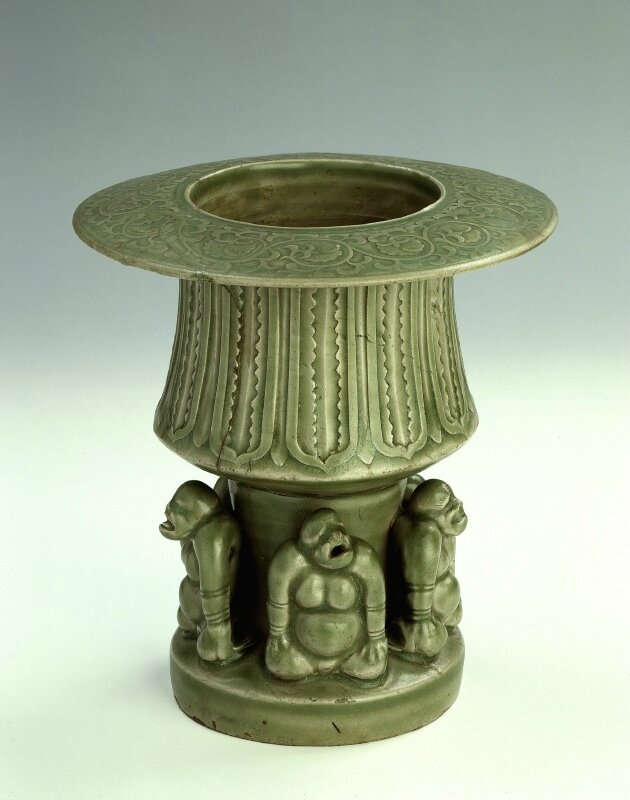 Incense burner, Northern Song Dynasty, 11th century. Yaozhou Ware