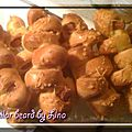 Caterpilar bread (pains au knackis)