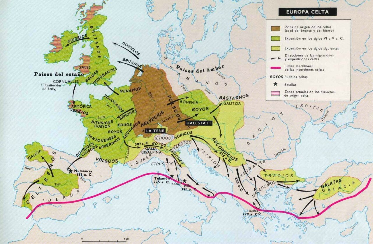 Celtic Europe