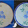 Tambour bouquet fleurs Michelle 2