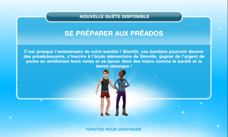 Les sims freeplay se pr parer aux ados for Modele maison sims freeplay