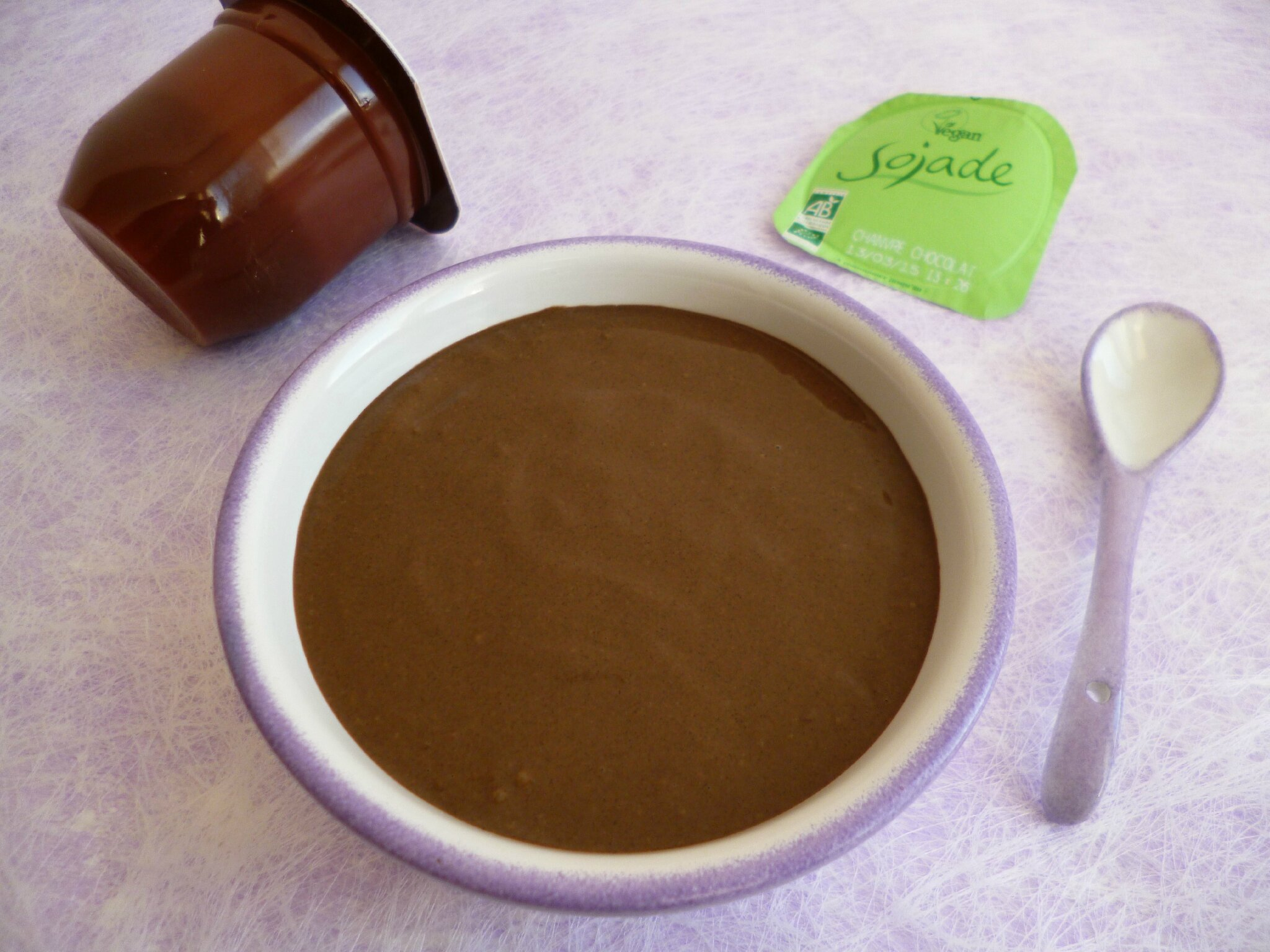 Cr me dessert hyperprot in e chanvre et chocolat sans - Blog cuisine dietetique ...