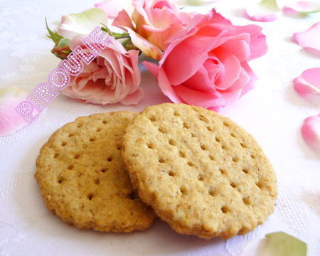 Biscuit avoine version allegee