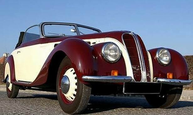 1938 - BMW - 327 Roadster