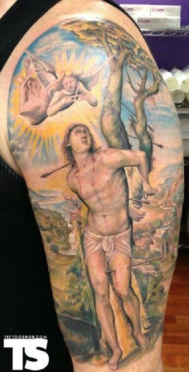 Xnick friedrich immortal images custom tattoo in Xcharlotte NC