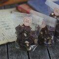 Cadeau gourmand fait maison : fudge aux 2 chocolats et aux amandes