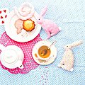 Tea time for my rabbits!
