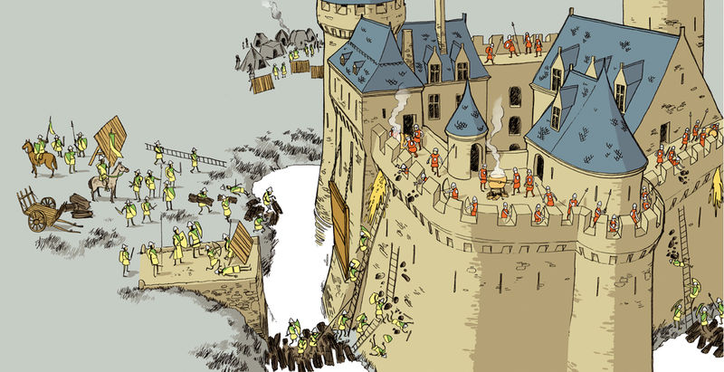 La table a dessin galactique le blog de gwenole page 17 - Dessin d un chateau fort ...