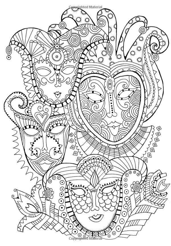 anti stress coloring pages advanced - photo#10