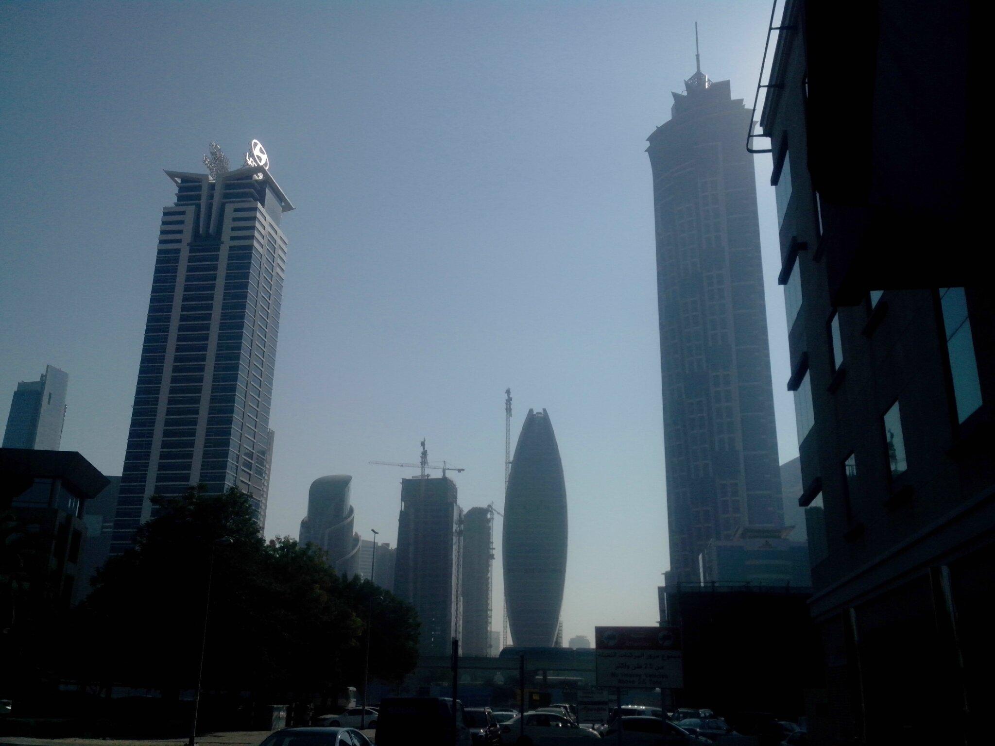 Lumière du matin sur Dubaï