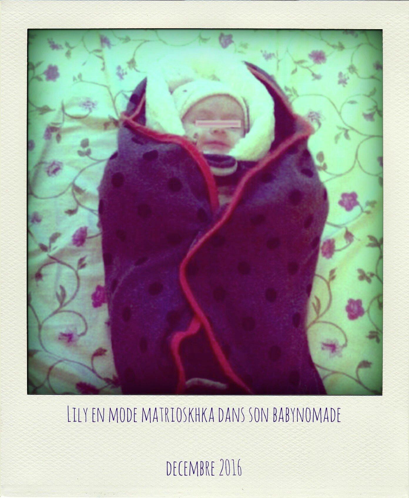 Lily en babynomade-pola