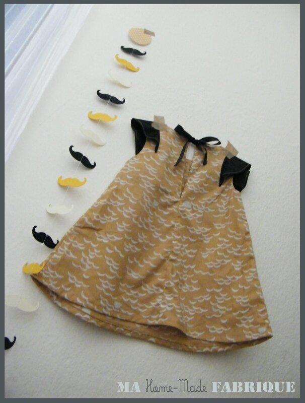 robe trapèze à volant2
