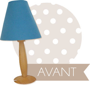 Id e r cup et d co diy tuto une lampe romantique lilly for Petite lampe de chevet romantique
