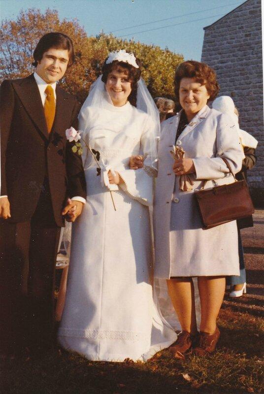 Bernadette se marie
