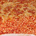 Gratin aux tendres perles à la sauce tomate