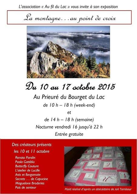 2015-10-10 au 2015-10-17 Le Bourget du Lac