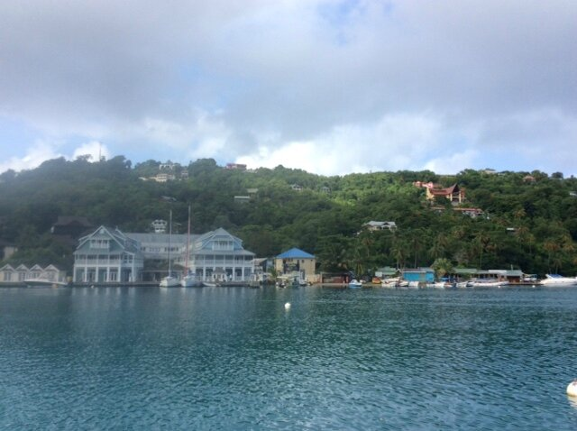 Marigot Bay le 2 août