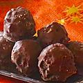 Bote de chocolats maison : Rochers noirs et variantes
