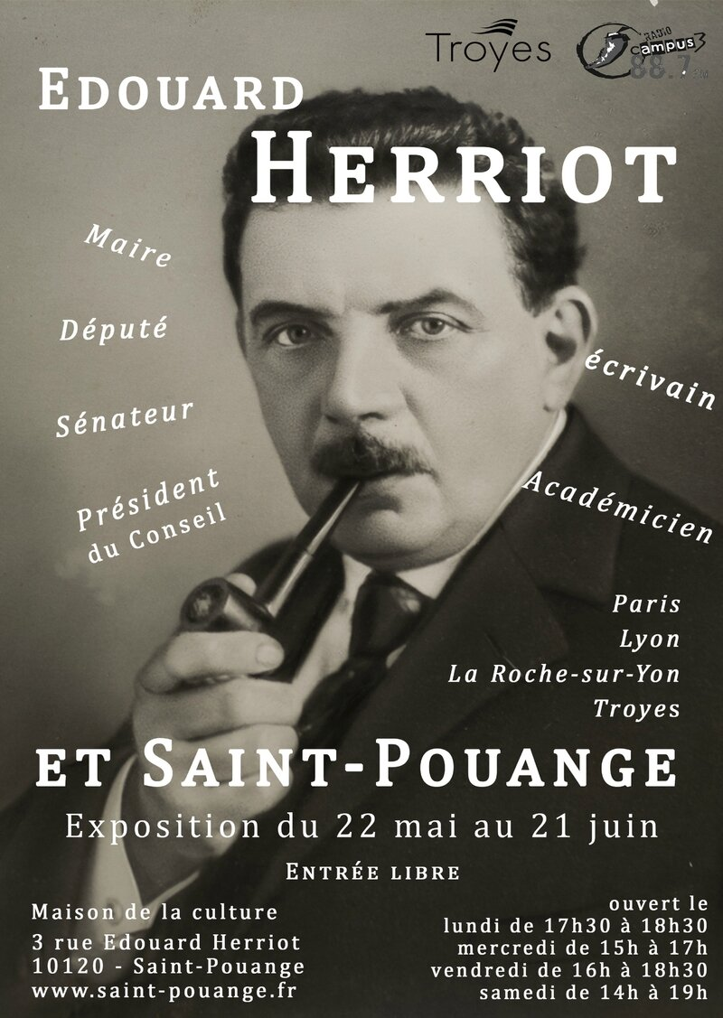 Affiche Expo E Hérriot