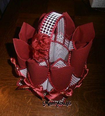 Porte serviettes en grillage blog de mamylou46 - Rond de serviette a fabriquer soi meme ...