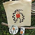 Ensemble porcelaine et tote bag