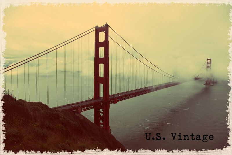 us vintage golden gate bridge