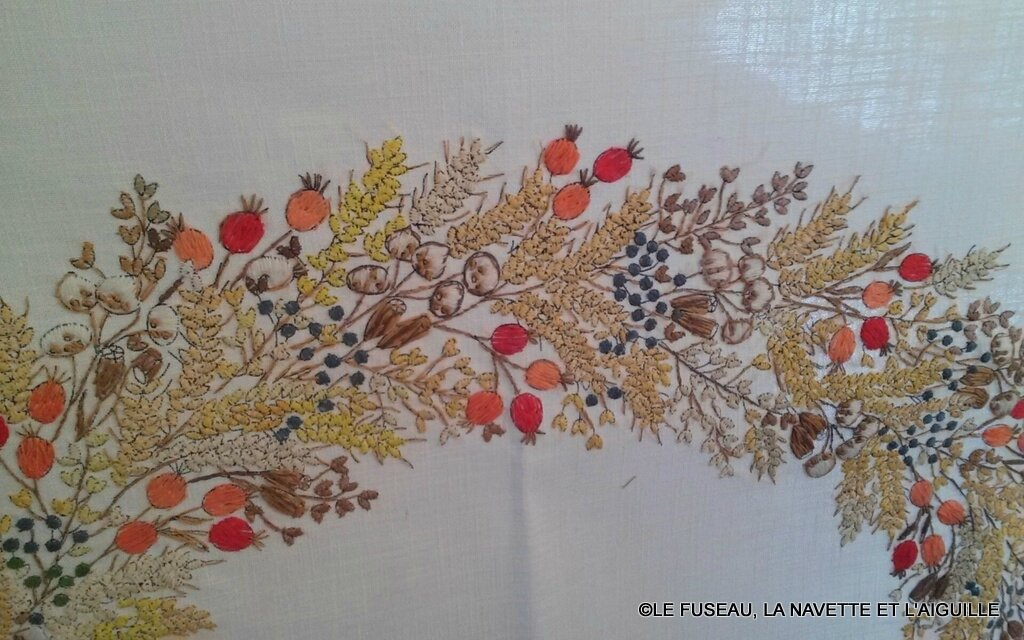 Ne cherchez pas la perfection ! : broderie traditionnelle