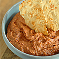 Je teste. Recette  tartiner n2 : HOUMOUS PIMENTE AUX HARICOTS ROUGES
