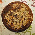 Gâteau des rois à l'amande et à la fleur d'oranger