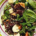 Associer lentilles et légumes pour une petite salade fraîcheur