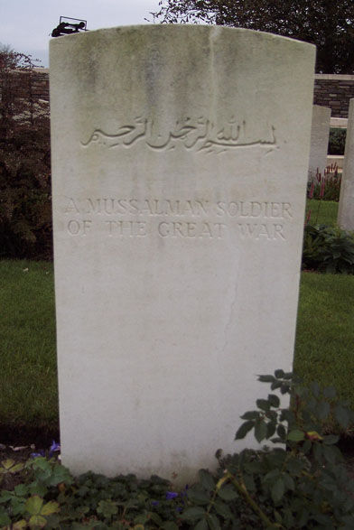 Tombe d'un soldat Musulman (inconnu)