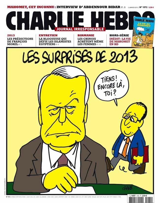 bonne annee 2013 hollande ayrault humour