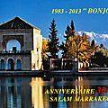 La revue salam marrakech a trente ans ! bel âge !