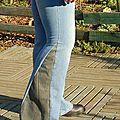 Comment transformer un pantalon normal en patte d'eph? le tuto