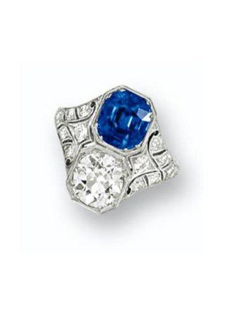 SAPPHIRE_AND_DIAMOND_RING__CIRCA_1920