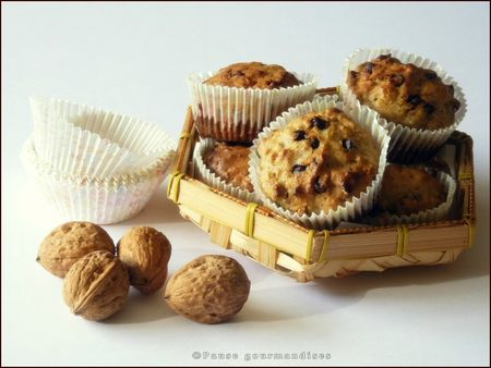 Muffins aux noix et ppites de chocolat (16)