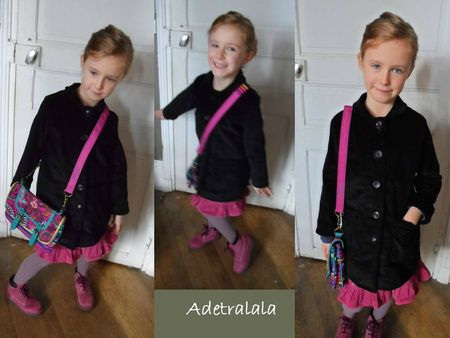 manteau noir velours 1