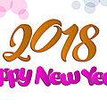 🎉 une merveilleuse année 2018 🎉