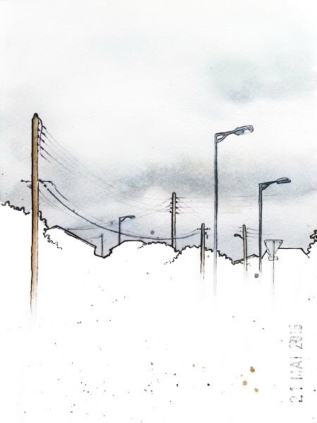 21 - A streetlight