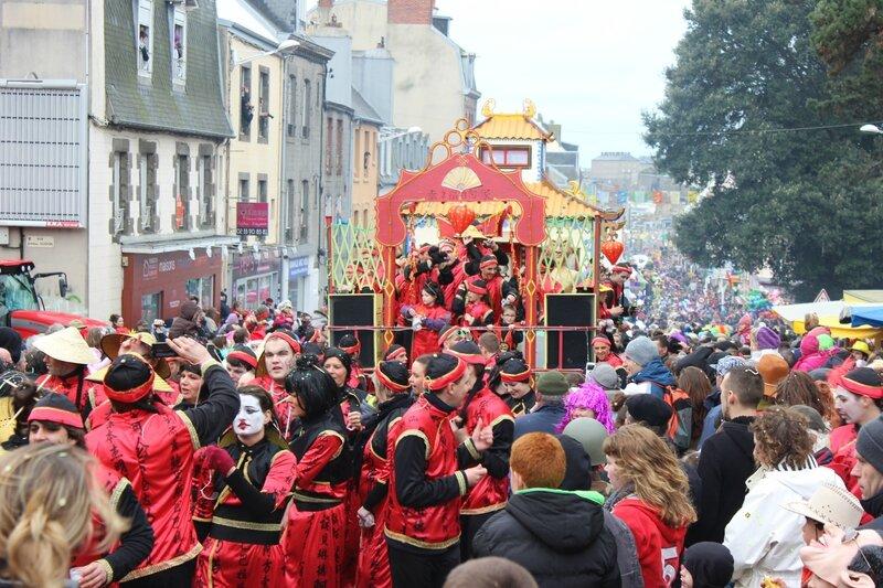 Carnaval de Granville 2014 cavalcade