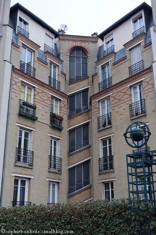 Coul verte immeuble